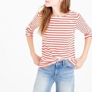J. Crew Classic Striped T-Shirt Women's XL